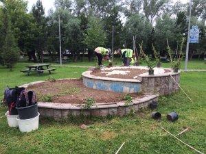 Park ve bahçeler rengarenk