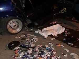 Mamak'ta hırsızlık, kaçarken kaza yaptılar
