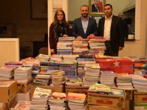 Ankara'dan Diyarbakır'a 5 bin kitap