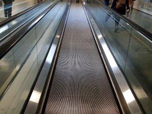 AKM Keçiören Metrosu yürüyen bantları çalışmıyor