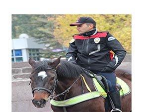 Kızılay'da göreve başlayan atlı polislere büyük ilgi