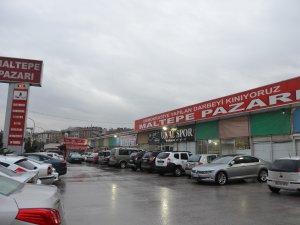 Maltepe Pazarı'ndaki esnaflar tedirgin