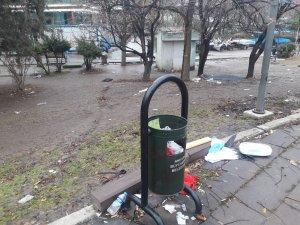Ankara'ya yakışmayan görüntüler