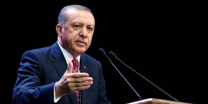 Cumhurbaşkanı Erdoğan'dan AB'ye eleştiri