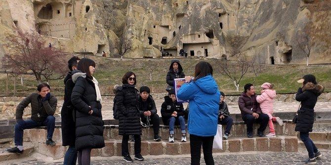 Turist sayısı 2017'de yüzde 48 arttı