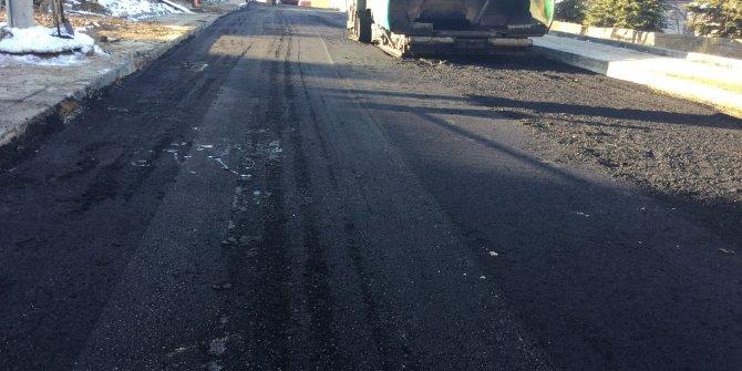Aralık ayında 5 bin ton asfalt