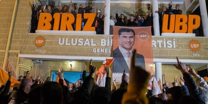 KKTC'de UBP lideri Özgürgür önde