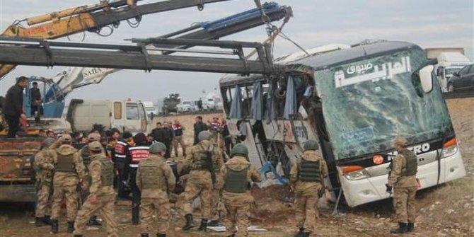 Silopi'de feci otobüs kazası: 9 ölü 28 yaralı