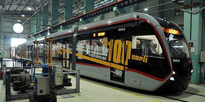Yerli ve milli tramvayla 127 milyon lira tasarruf sağlandı