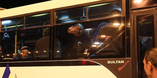 AŞTİ'de sabahlayan evsizlere Valilik'ten otel hizmeti