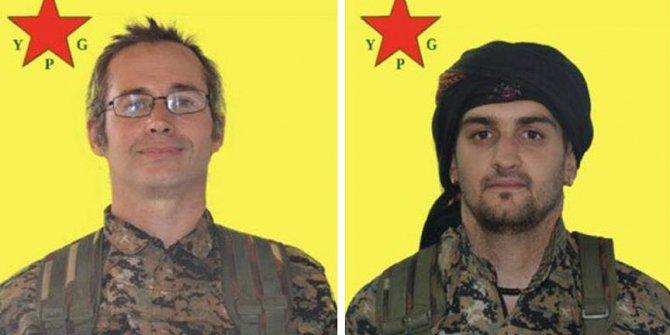Zeytin Dalı Harekatı'nda iki Avrupalı terörist deşifre oldu
