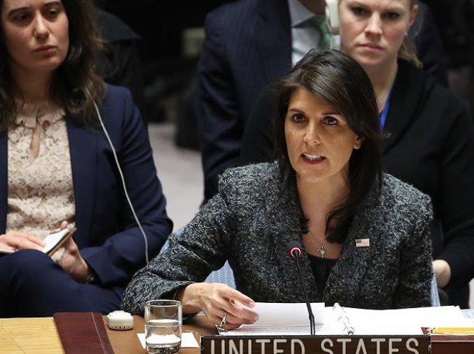 ABD'den BMGK'ye Suriye'de yeni ateşkes teklifi