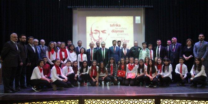 Elmadağ'da Mehmet Akif Ersoy'a Anma