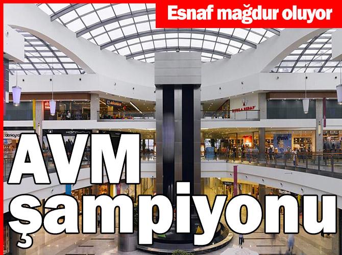 Ankara halen AVM şampiyonu
