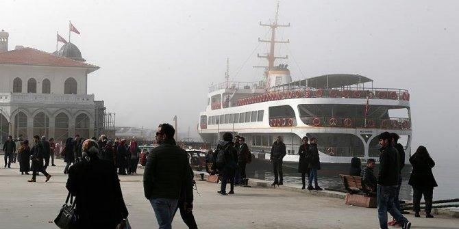 İstanbul'da bazı vapur seferleri iptal edildi