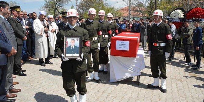 Şehit Uzman Çavuş Şahin Kırşehir'de son yolculuğuna uğurlandı