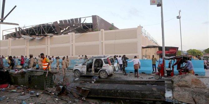Somali'de stadyumda patlama