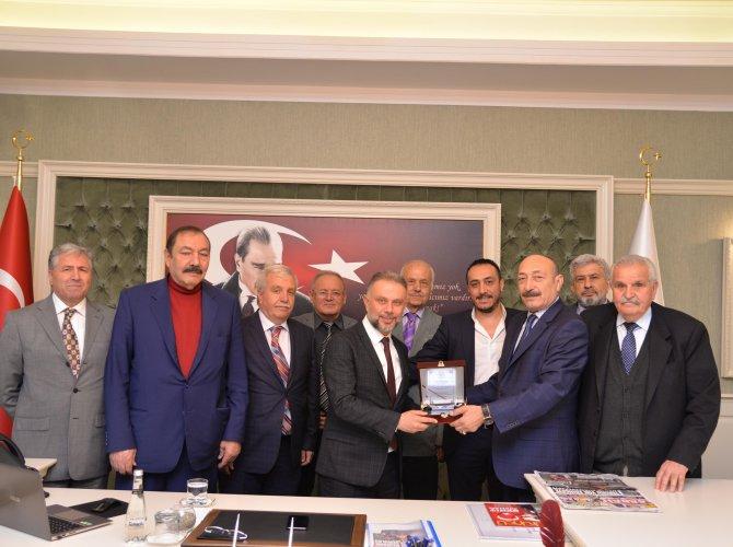Emekli polislerden Ertürk'e ziyaret