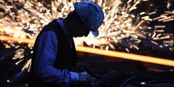 Sanayi üretimi şubatta, geçen yılın aynı ayına göre yüzde 9,9 arttı