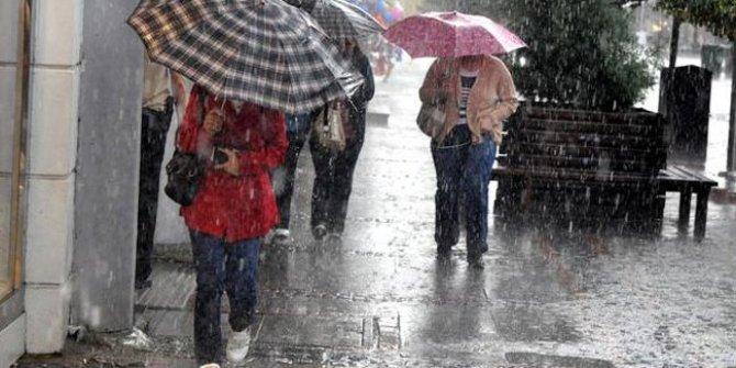 Meteoroloji'den Ankara'da yağış uyarısı