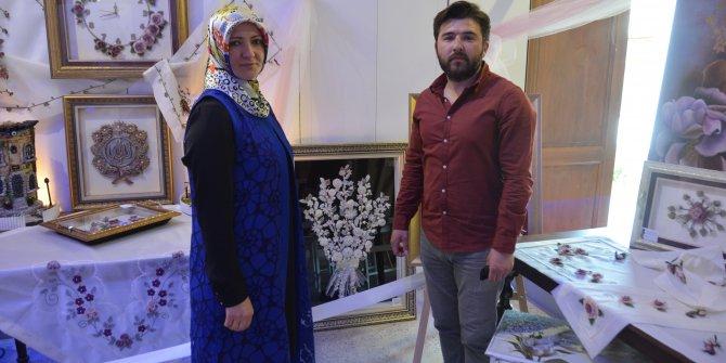 Ulucanlar'da el sanatları sergisi