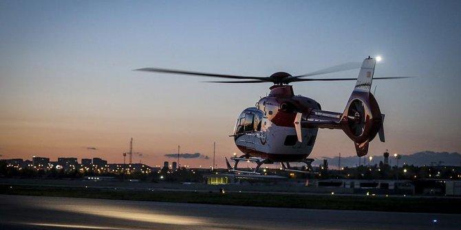Ambulans helikopterler 29 bine yakın hasta taşıdı