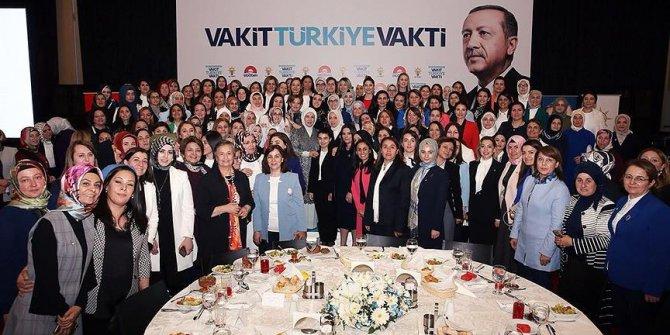 Emine Erdoğan, AK Parti'nin kadın milletvekili adaylarıyla iftarda buluştu