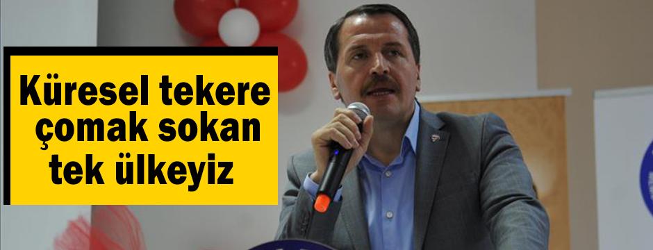 'Türkiye, küresel tekere çomak sokan şu an yegane ülke'