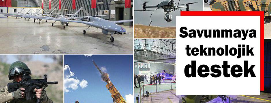 Ülke savunması yeni teknolojilerle donatıldı
