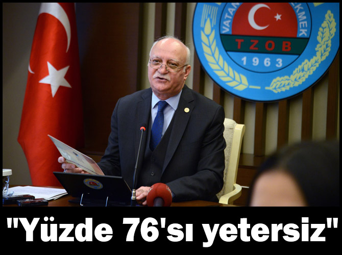 Bayraktar: Türkiye topraklarının yüzde 76'sı organik madde bakımından yetersiz