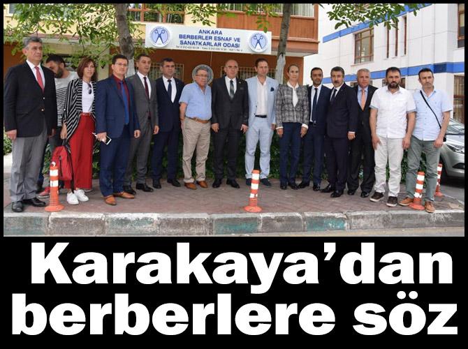 MHP Ankara 1'inci Bölge Milletvekili Adayı Mevlüt Karakaya'dan berberlere söz