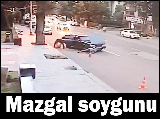 Mazgal hırsızları güvenlik kameralarına yakalandı