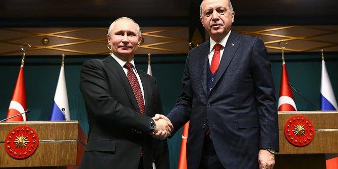Erdoğan ile Putin'den kritik görüşme!