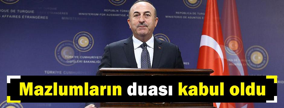 Tüm mazlumlar Erdoğan kazansın diye dua ettiler