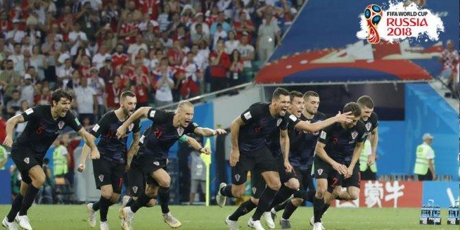 Son yarı final bileti Hırvatistan'ın