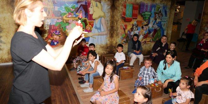 Yenimahalle'de çocuklar moral depoladı