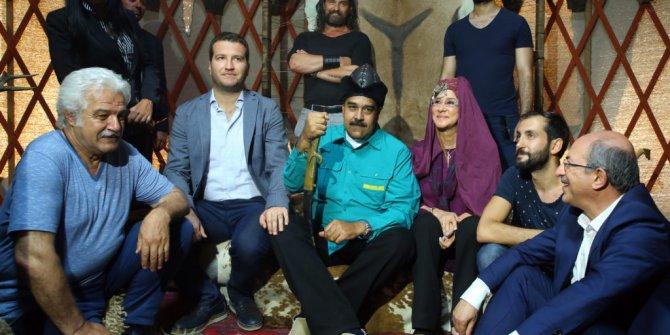 Maduro'dan Diriliş Ertuğrul setine ziyaret