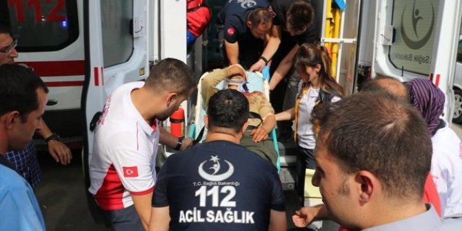 1'i ağır 6 asker yaralandı