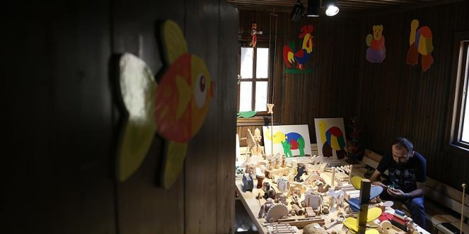 Ekolojik oyuncak müzesi açılış için gün sayıyor