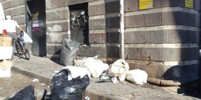 Ulus'un arka sokakları çöplüğe döndü