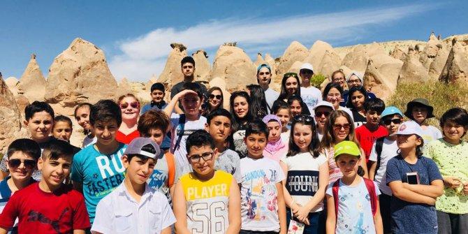 Altındağlı gençler Kapadokya'da