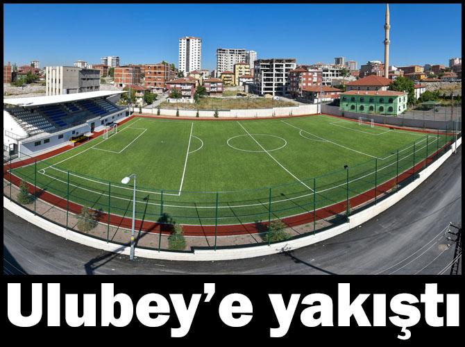 Ulubey Mahallesi spor tesisine kavuştu