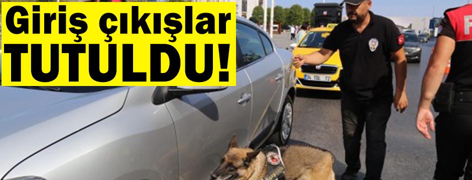 İstanbul'un giriş çıkışları tutuldu!