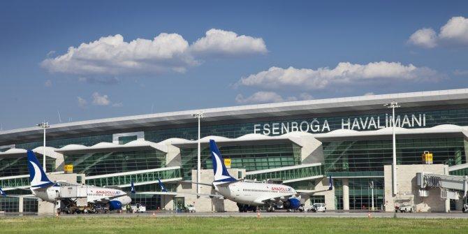 Esenboğa 9 ayda 13 milyon yolcuya hizmet verdi
