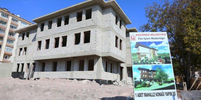 Keçiören'deki mahalle konaklarına yenileri ekleniyor