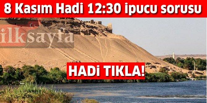 8 Kasım HADİ 12:30 ipucu: Dünyanın en uzun nehri Nil hangi kıtadadır? Nil Nehri nerededir?