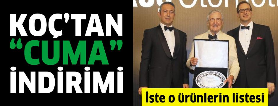 """Koç firması Arçelik'ten 'Kara Cuma'ya misilleme: """"Cuma aşkına"""" indirimi"""