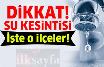 10 Aralık 2018 Ankara Su Kesintisi - ASKİ