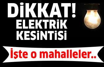 23 Ocak 2019 Ankara Elektrik Kesintisi - Başkent EDAŞ