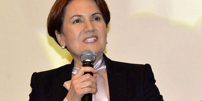 Meral Akşener: Ankara'ya iki partinin ortak aday olabilir